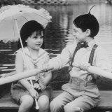 Still of Bug Hall and Brittany Ashton Holmes in The Little Rascals