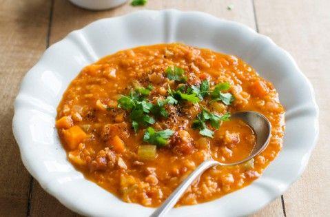 Lentil and bacon soup recipe - goodtoknow