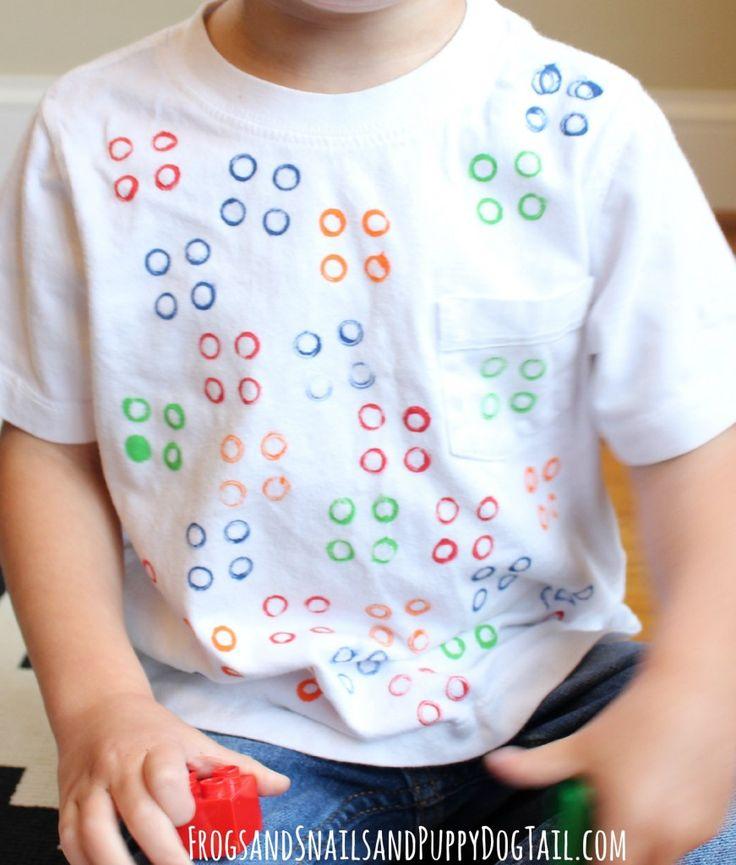 DIY Lego shirt for kids on FSPDT