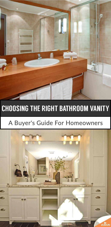 Choosing The Right Bathroom Vanity A Buyer S Guide Kukun Bathroom Vanity Vanity Bathroom