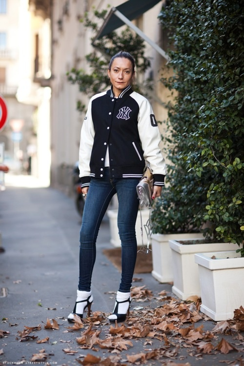 17 Best images about Trend-Baseball jacket / Jaqueta deTime on ...