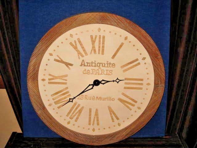 Pin On Wood Clock