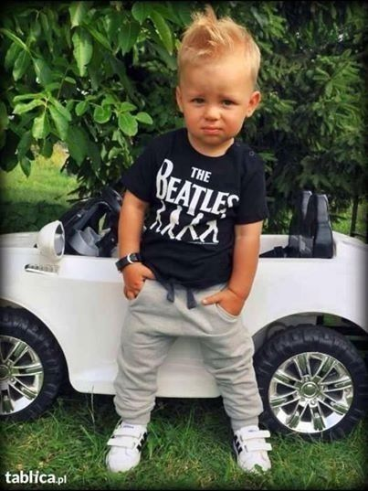 He's adorable, I love dressing little boys-I want my lil Misters to dress this cute