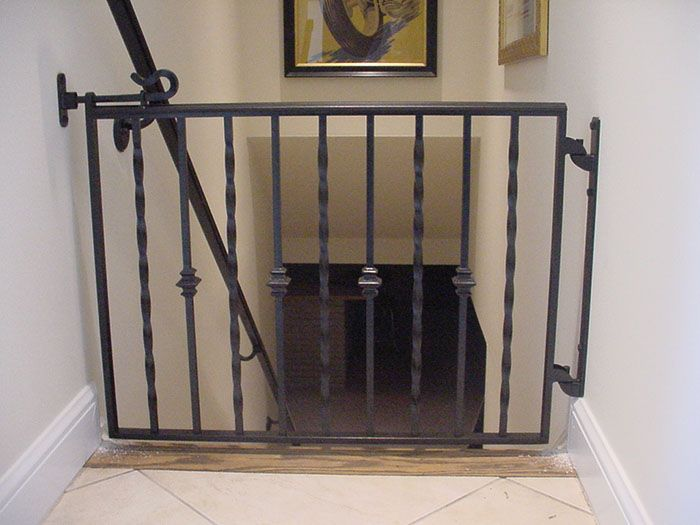 Perpetua Iron Gates Like this but plain rods every other one instead of the twisty ones
