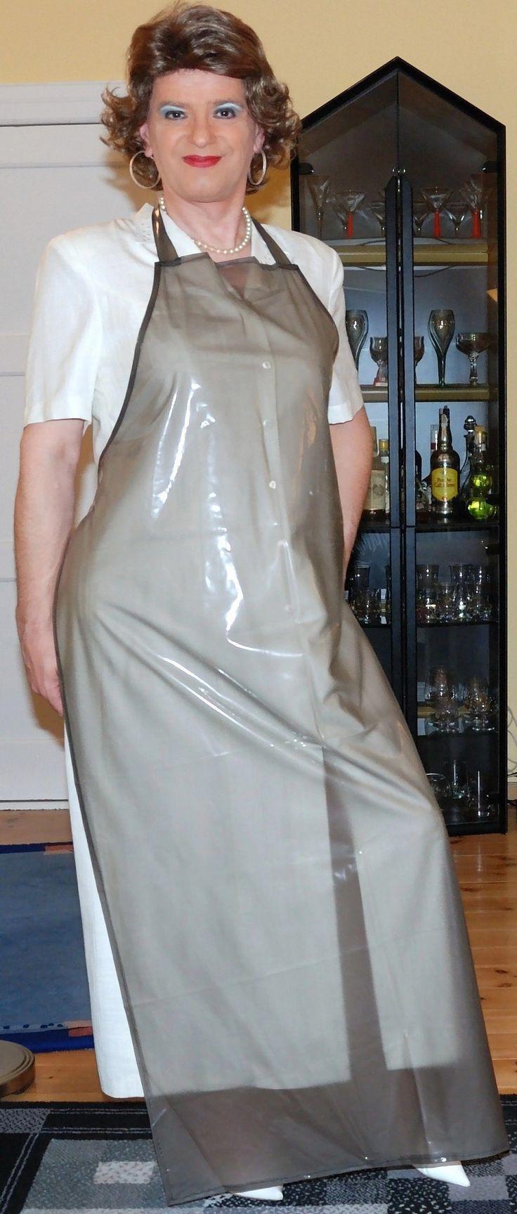 White rubber apron - Https Flic Kr P Drwdcz Birgit012921