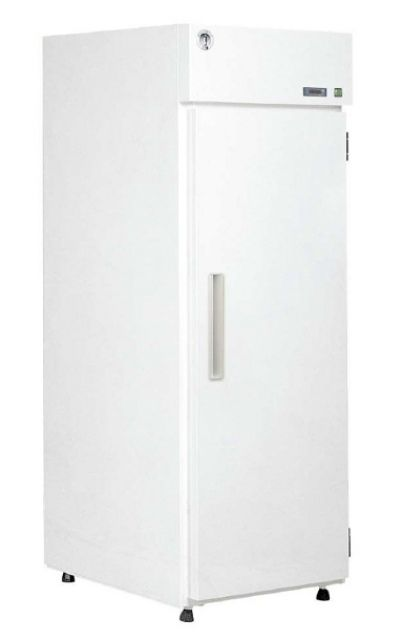Solid door refrigerators with painted exterior