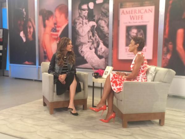 """Taya Kyle, wife of American Sniper Chris Kyle, opens up about her new memoir """"American Wife"""" with Robin Roberts"""
