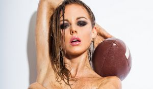 Forget The Super Bowl It\u2019s All About This Sensational Luci Ford Football-Themed Photoshoot ynn.io