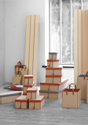 PATTA - fold-able storage box, bag and partition