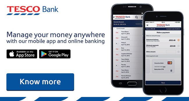 The easy way to manage your current account, credit card, savings and loan accounts on the go.