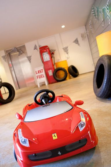 There will always be two Ferrari's in the garage...