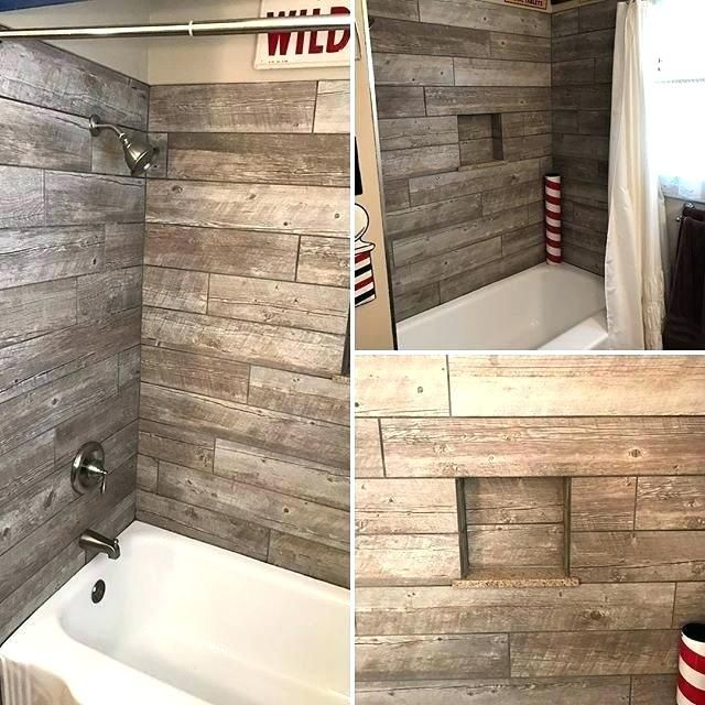 Inexpensive shower wall options cheap tub surround ideas ...