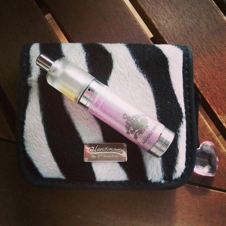 Zebra mod case, pink Hydra, Kayfun bell cap.