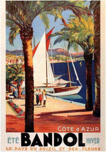 Cote d'Azur Bandol Summer and Winter Vintage by Vintagemasters