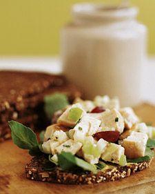 gotta try this one: Food, Apple, Healthy Chicken Salads, Martha Stewart, Chickensalad, Chicken Salad Recipes, Chicken Salad Sandwiches