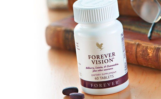 Forever Vision™ is a dietary supplement with Bilberry, Lutein and Zeaxanthin, plus super antioxidants and other nutrients. Bilberry, a popular traditional herb, can support normal eyesight and improve circulation to the eyes. Lutein, a common carotenoid found in many vegetables and fruits, can help protect the retina. Zeaxanthin and Astaxanthin are other carotenoids that are important to the eye's macular health.