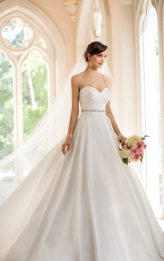 Cool  Wedding Dresses with Pockets by Stella York