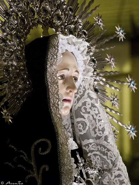 Miercoles Santo 2008. 2ª Dolor de la Virgen Dolorosa en San Pablo.