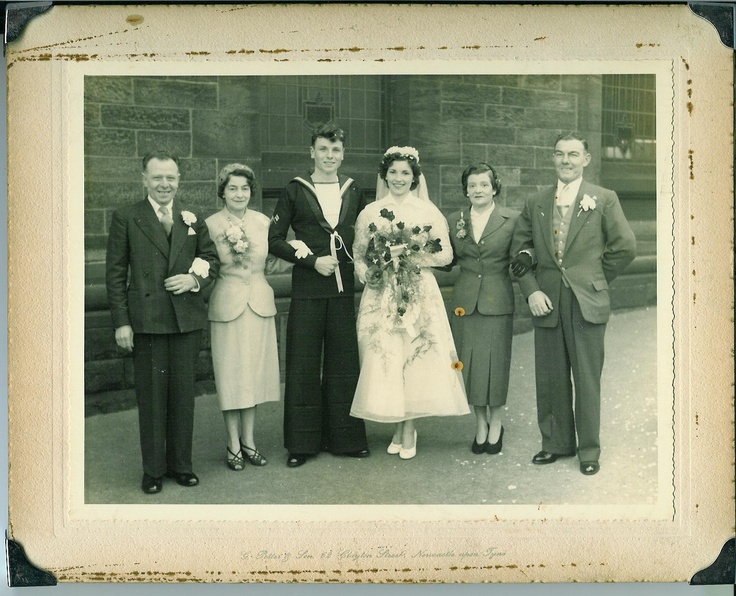Real Retro Weddings: 26 Best Images About Real Family Vintage Weddings On Pinterest