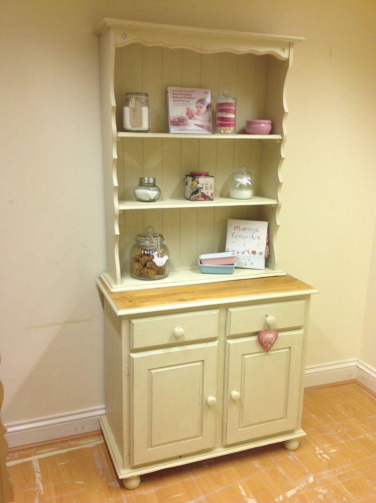 Cute Welsh dresser painted in Annie Sloan 'Old Ochre'