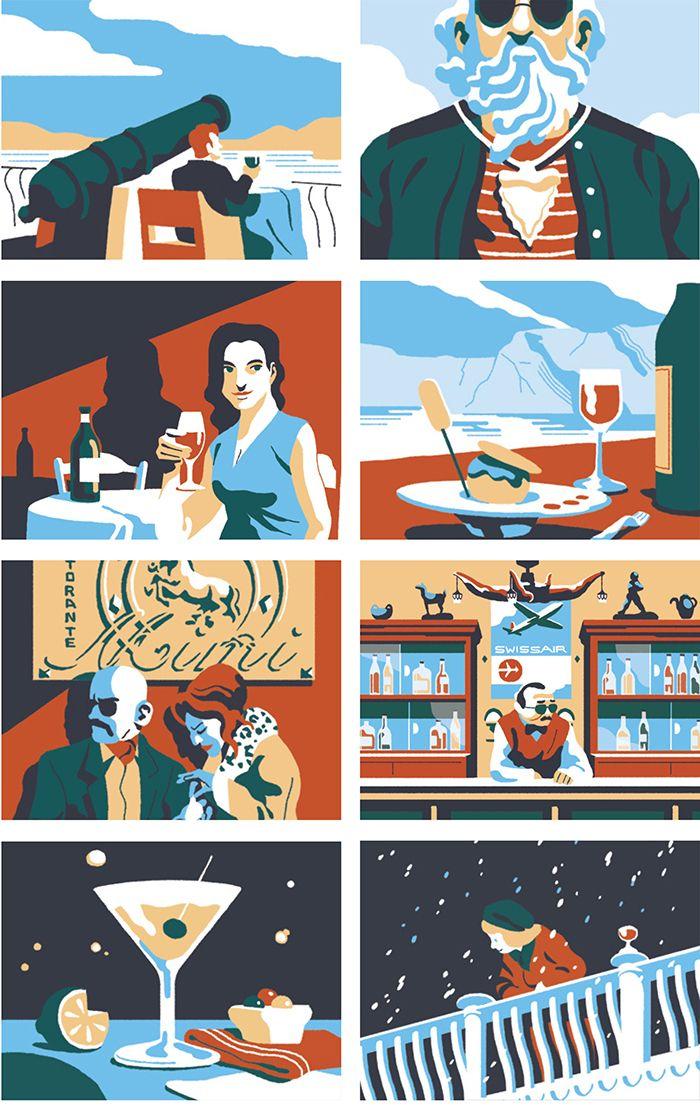 200 best International Illustrators images on Pinterest - magazine storyboard