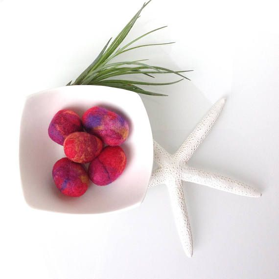 NEW Fragrance DIFFUSER Felted pebbles. Essential Oil