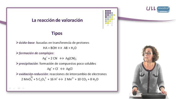 TAREA 2 DÍA  Vídeo  de la Universidad de La laguna Se realiza una breve introducción a los métodos volumétricos de análisis, describiendo los aspectos más importantes.