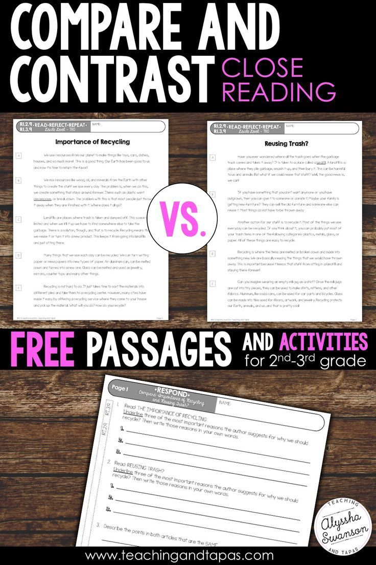 Close Reading Compare And Contrast Two Texts Freebie Ri 2 9 Ri 3 9 Reading Passages Close Reading Passages Informational Texts Activities [ 1104 x 736 Pixel ]