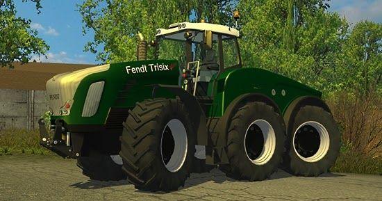 Farming simulator 2015 Fendt Trisix tractor