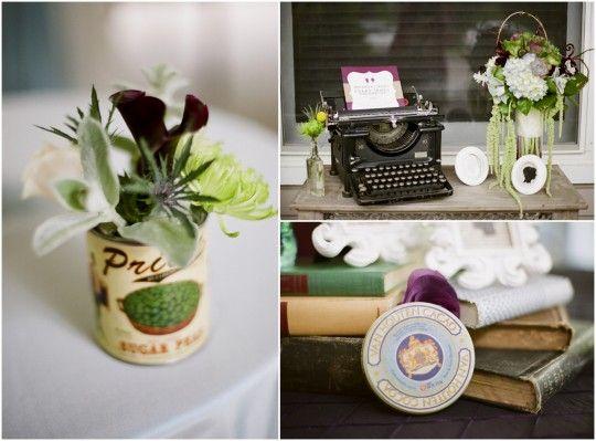 Hipster garden wedding