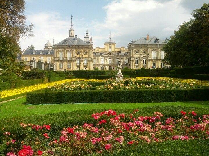 Jardines del Palacio Real de La Granja en La Granja de San Ildefonso, Castilla y León