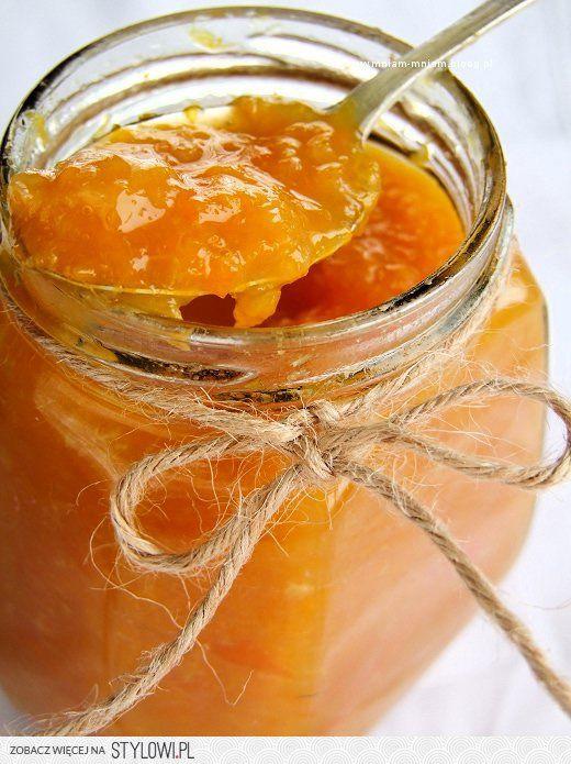 DŻEM POMARAŃCZOWY 8 pomarańczy 1 szklanka cukru sok z j…