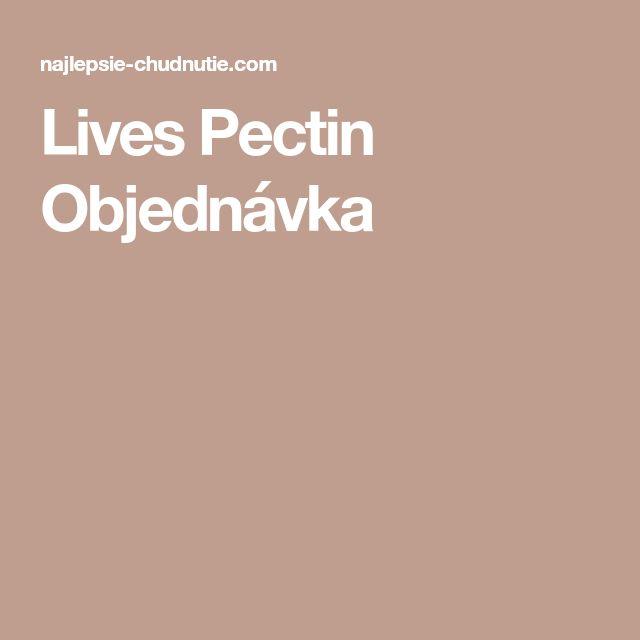 Lives Pectin Objednávka