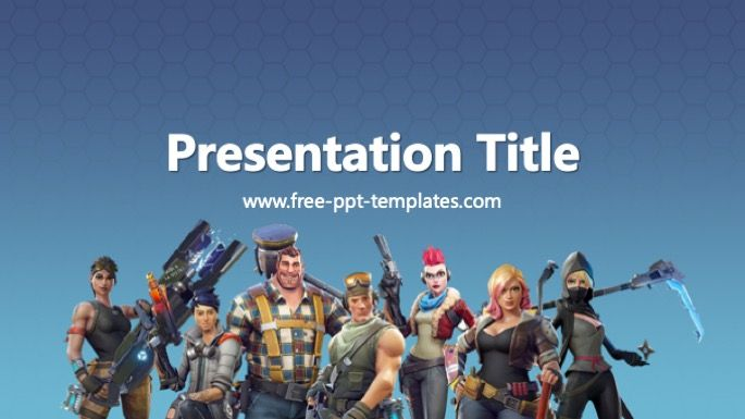 Fortnite Powerpoint Template Powerpoint Templates Powerpoint Templates