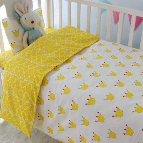 Cute Baby Crib Bedding Set 100% Cotton