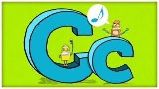 """ABC Song - Letter C - """"Crazy For C"""" by StoryBots, via YouTube."""