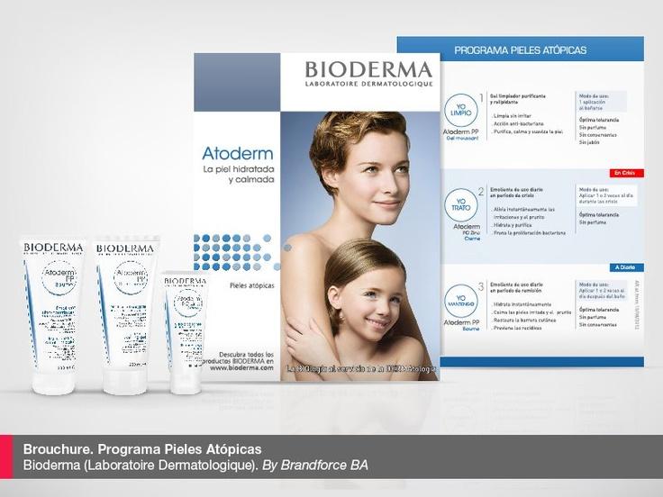 Brochures. Programa pieles Atópicas. Atoderm  Laboratoire Dermatologique Bioderma.     By Brandforce