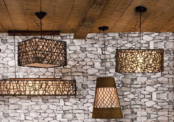Natural y acogedor, tu hogar puede tener este estilo. #Natural #Rústico #Iluminación #Lámparas #EasyTienda #TiendaEasy www.easy.cl/easy/