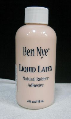 Ben Nye Liquid Latex LL-25 4fl.oz/118ml. Moulage, Zombies, Wrinkles, Prosthetics