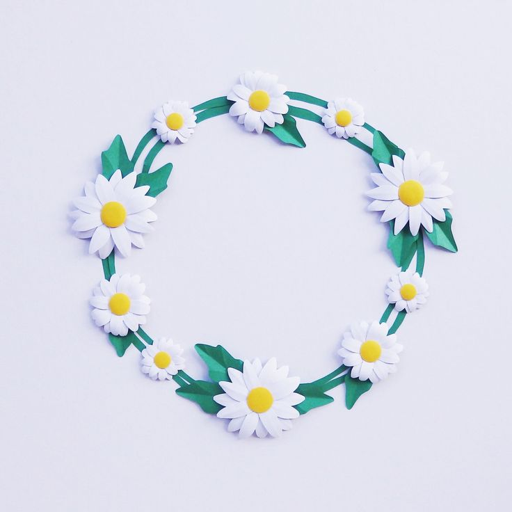 🎉 Happy 2018! 🎉 New year means new products now available. Including this Framed Paper Daisy Chain 🌼  #paper #art #daisy #daisychain #flower #floral #love #wedding #anniversary #white #garden #2018 #nursery #gift #homedecor #love #strictlypaperart