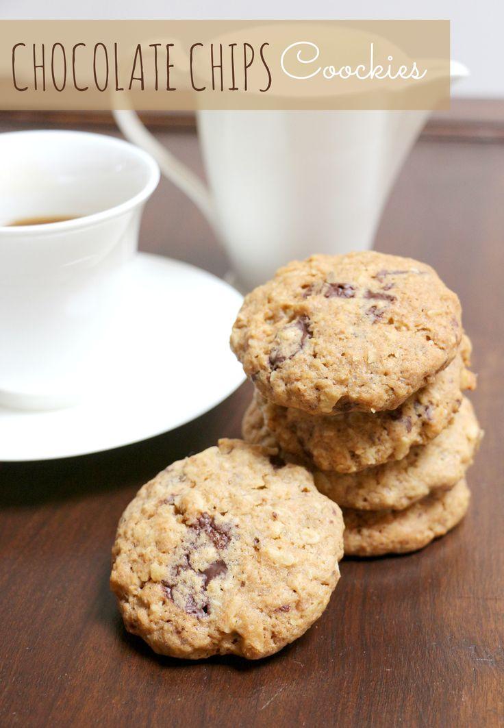La ricetta dei biscotti più buoni del mondo!! http://partymamma.net/ricette/chocolate-chips-cookies/