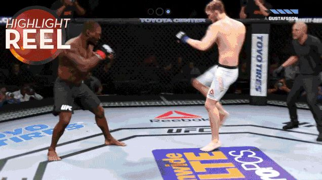 UFC 2 Fighter Gets The Physics Knocked Out Of Him