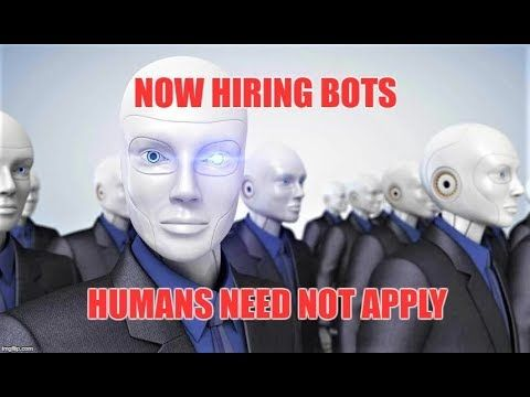 Now Hiring AI Robots - Humans Need Not Apply - Obsolete By 2030