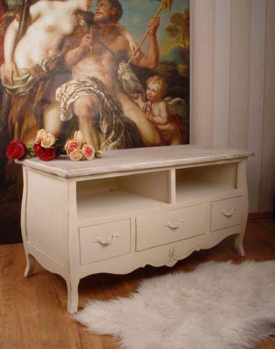 Meuble Tv Vintage Solde : Buffet Table De Télévision Tv Armoire Meuble Tv Blanctelevision