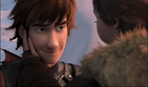 Because I love Hiccup and Valka. That's a guy that loves his mom, and a mom that loves her son. ♥