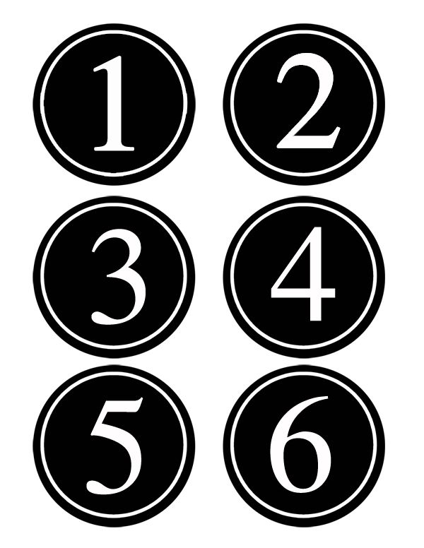 free  printable bean bag toss  numbers for parties