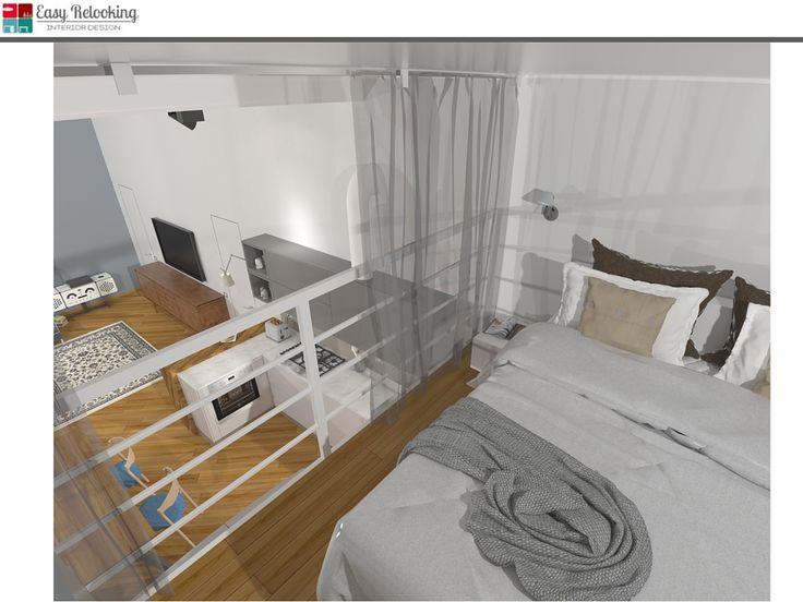 Camera da letto su soppalco dragtime for - Camera letto soppalco ...