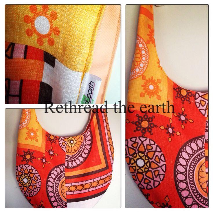 Upcycled hobo bag by rethread the earth.. Facebook.com/rethreadtheearthbyeiwozdesign
