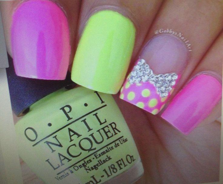 Mejores 114 imágenes de Uñas en Pinterest | Diseño de uñas, Arte de ...