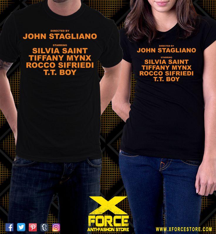 Camiseta Buttman John Stagliano Silvia Saint Rocco Siffredi
